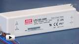 Смотреть видео: LPC-60-1400, светодионый драйвер производства Mean Well