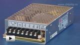 Смотреть видео: RS-100-48 Блок питания, 48В,2.3А,100Вт