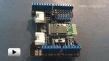 Смотреть видео: Bluetooth Shield, Arduino-совместимая  плата Bluetooth-модуля