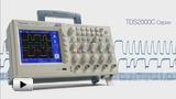 Смотреть видео: TDS2000C серии созданы чтобы упростить Вашу работу
