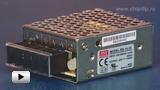 Смотреть видео: RS-15-24 Блок питания, 24В,0.625А,15Вт