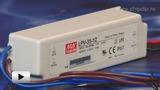 Смотреть видео: LPV-35-12, светодионый драйвер производства Mean Well