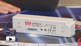 Смотреть видео: LPV-60-12, светодионый драйвер производства Mean Well