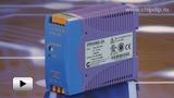 Смотреть видео: Блок питания  DRAN60-24 от компании Chinfa