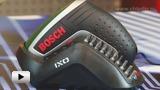 Смотреть видео: Bosch. Аккумуляторный шуруповёрт с литий-ионным аккумулятором IXO IV medium