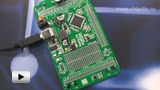 Смотреть видео: ME-READY for XMEGA Board, Макетная плата с установленным мк ATXmega128A1