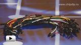 Смотреть видео: Breadboard Jumper Wire Pack(200mm100mm), Набор проводов соединительных (M-M) 75 штук
