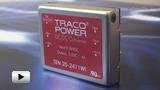 Смотреть видео: DCDC преобразователи серии TEN 20WI компании  TRACO