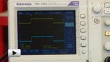 Смотреть видео: TBS1062, Осциллограф цифровой, 2 канала x 60МГц