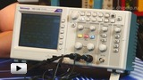 Смотреть видео: TBS1102, Осциллограф цифровой, 2 канала x 100МГц