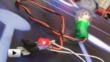 Смотреть видео: Прерыватель тока на мигающем светодиоде