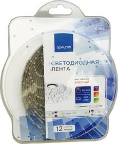 Фото 1/2 04BL (3528-60LED-IP65-R), Лента светодиодная (красный), 4.8Вт/м, цена за катушку 5м