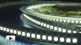 Смотреть видео: L-12WN24 светодиодная лента белого свечения