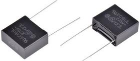 ECQU2A224ML, Пленочный помехоподавляющий конденсатор, 0.22 мкФ, 275 В AC, Серия ECQUL, ± 20%, Радиальные Выводы