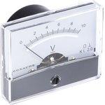 PM-2/10V, DC Analogue Voltmeter, 10V, 37.5 (Dia.) mm