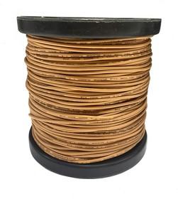 Фото 1/2 Провод силиконовый 18AWG 0,75 мм кв 100 м (оранжевый)