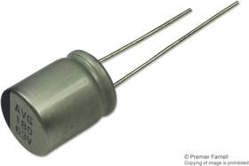 687AVG025MGBJ, ALUMINUM ELECTROLYTIC CAPACITOR, 680UF, 25V, RADIAL