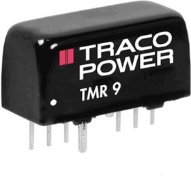 TMR 9-2422, DC/DC CONVERTER ISOLATED +-12V 0.375A 9W