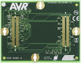Фото 1/4 ATSTK600-RC31, for use with 44-pin MegaAVR in TQFP and QFN Socket