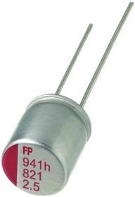 RL80G561MDN1KX, 560 мкФ, 4 В, Конденсатор полимерный
