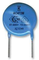 C921U332MZVDBA7317, 3300 пф, 400 В/250 В, 20%, X1 / Y2, Конденсатор подавления ЭМП