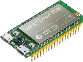 Фото 1/4 LinkIt Smart 7688, Одноплатный компьютер на базе процессора MT7688AN для IoT приложений