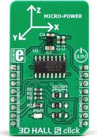 MIKROE-3197, IIS2MDCTR Magnetoresistive Sensor Click Board
