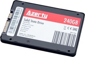 """Жесткий диск SSD для ноутбука 2.5"""" (твердотельный) 240Gb Azerty BR   купить в розницу и оптом"""