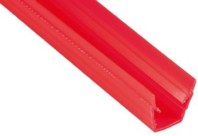 92036, COVER PROFILE, SLOT 8, PP, RED, 2M