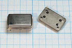 Кварцевый генератор 4.194304МГц, 5В, HCMOS/TTL в корпусе FULL=DIL14, гк 4194,304 \\FULL\ \5В\Z54-A70\NDK