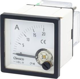CP-48-DC-20А, Амперметр стрелочный 20А DC 48х48