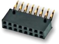 610110249221, Разъем типа провод-плата, Серия WR-PHD, 10 контакт(-ов), Гнездо, 2.54 мм, Поверхностный Монтаж
