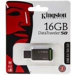 Флешка USB KINGSTON DataTraveler 50 16Гб, USB3.0 ...