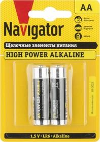 Элемент питания Navigator 94 752 NBT-NE-LR6-BP2