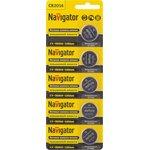 Элемент питания Navigator 94 763 NBT-CR2016-BP5
