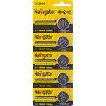 Элемент питания Navigator 94 764 NBT-CR2025-BP5