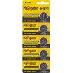 Элемент питания Navigator 94 765 NBT-CR2032-BP5