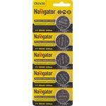 Элемент питания Navigator 94 766 NBT-CR2450-BP5