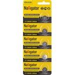 Элемент питания Navigator 94 778 NBT-CR1220-BP5