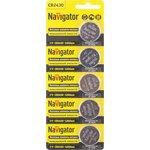 Элемент питания Navigator 94 781 NBT-CR2430-BP5
