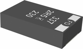 Фото 1/4 TECAP, 470 мкФ x 2.5 В, тип Z, 20%, Конденсатор танталовый SMD