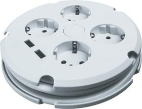 Удлинитель Navigator 61 456 NPE-USB02-04- 150-ESC-3X1с/з выкл.4 гн.1.5м USB2.1A