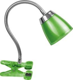 Светильник Navigator 71 835 NDF-C006-6W-4K-G-LED прищепка, гибкий, зелёный