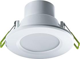 Светильник Navigator 94 899 NDL-P1-6W-830-WH-LED (аналог R63 60 Вт)(d100)