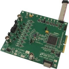DC2326A-B, Демонстрационная плата, LTC2345-16 8-канальный 16-битный 200kМвыборок/с SAR АЦП