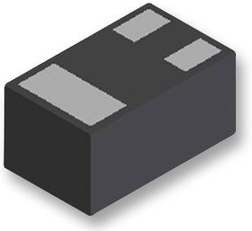 Фото 1/2 MMBT3904LP-7B, Биполярный транзистор, NPN, 40 В, 300 МГц, 400 мВт, 200 мА, 30 hFE
