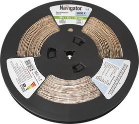 СД Лента Navigator 71 245 NLS-3528W60-4. 8-IP20-12V-R50