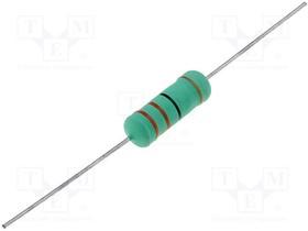 KNP05WS-270R, Резистор проволочный, THT, 270 Ом, 5Вт, ±5%, -6,5x17,5мм, 300ppm/°C