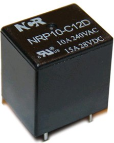 NRP-10-C-24D, Реле 1пер. 24В/10A, 240V