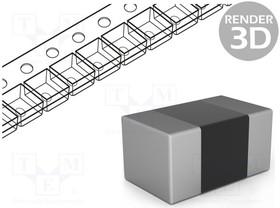 SMD0402-130R-1%, Резистор толстопленочный, SMD, 0402, 130Ом, 0,063Вт, ±1%, -55-125°C